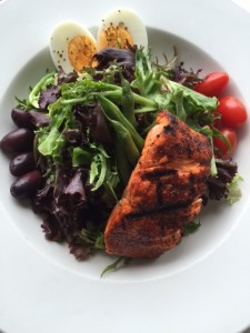 Wild Sockeye Salmon Salad
