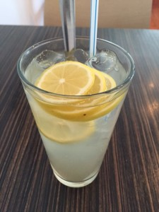Iced Honey Lemon Drink.