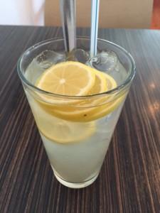 Iced Honey Lemon Drink.