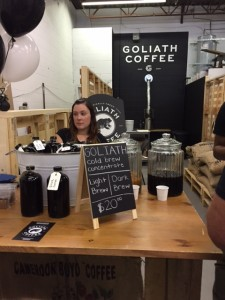 Goliath Coffee.
