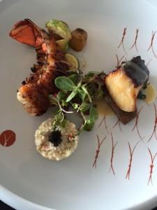 Sablefish & Aburi Lobster Duo