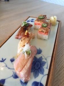 Miku's Signaure Sushi Selection