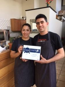 Chefs Berenice Balbuena & Rafael Flores