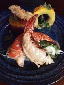 Purple Lobster Skordalia