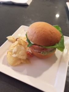 Pink River Salmon Burger