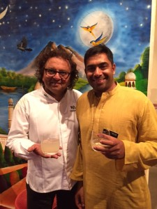 Chef Vikram Vij & Sirish Rao