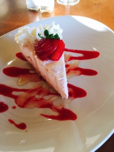 Strawberry Ice Cream Pie