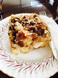 Croissant Pudding