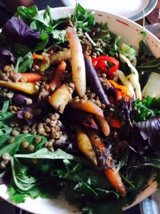 Laird Lentil Summer Harvest Salad,