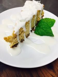 Caramelized Banana Cheesecake