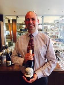 Winemaker Gustav Allander