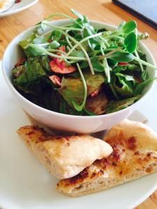 Basil & Blackberry Salad