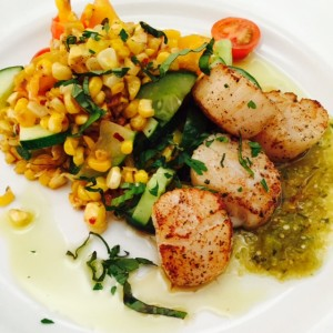 Seared BC Scallops
