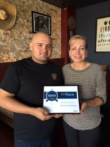 Chef Roberto Lopez Lara and Owner, Carol Janeczko