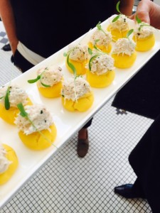 Dungeness crab causa