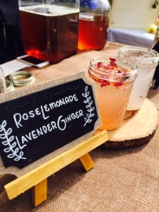 The Rose Lemonade - The Capilano Tea House and Botanical Soda Co.