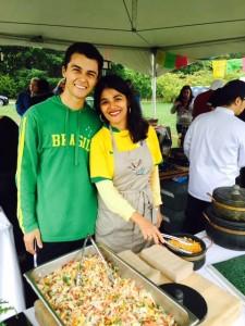 Tiago and Nina de Souza-Jensen (Brazil).