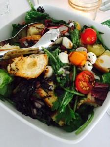 Late Summer Panzanella Salad