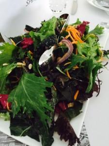 UBC organic mixed greens