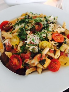 Roasted Summer Squash Penne
