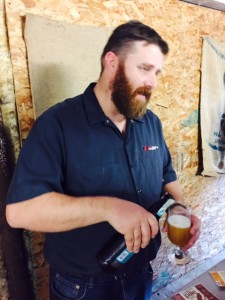 Paul Sweeting (owner) Ravens Brewing Co.