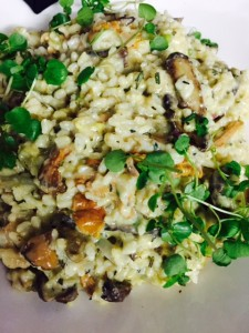 Organic Fraser Valley Rice Risotto