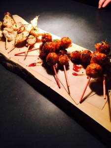 Yakitori selection