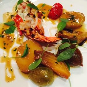 Lobster Florentine