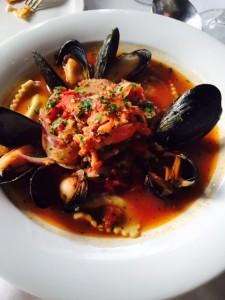 Lobster Ravioli Bouillabaisse