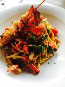 Lobster & Prawn Linguine