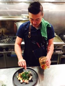 Chef Clement Chan at Torafuku