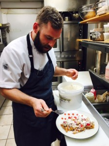 Chef Geoff Rogers at Blacktail