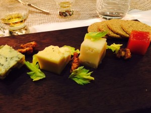 Selection of Scottish cheese