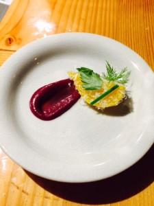 Beets, Parmesan, Balsamic Vinegar