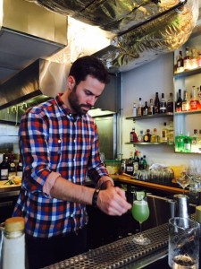 Max makes the Peoples' Cocktail