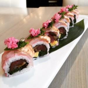 The Miku Sakura Roll