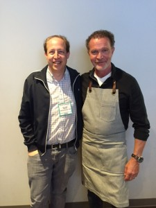 With Chef Mark McEwan (right)