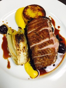 Four Spice Duck Breast