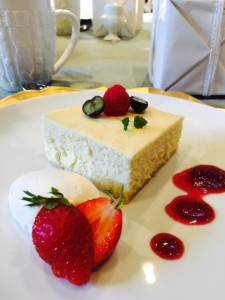 Vanilla bean Mascarpone Cheesecake