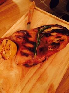 Half Fire Grilled Chicken
