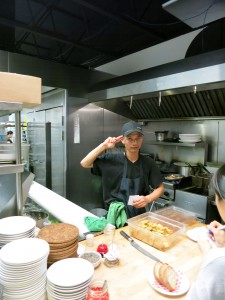 Chef Tai Luong Nguyen at Linh Cafe