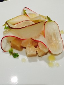 Lightly cured Yellowtail