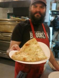 Straight outta Brooklyn Pizza