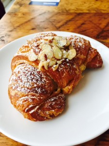 Almond filled Croissant