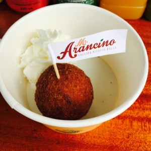 Pumpkin Risotto Ball