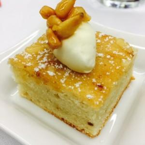Pignoli Miele Cake