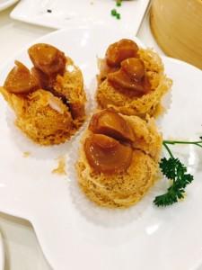 Deep fried Taro & Abalone Dumplings