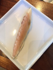 Mackerel smoked in house