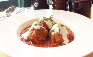 Mario's Meatballs at Baccano