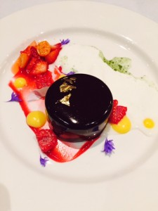 Dark Chocolate Passionfruit Mousse